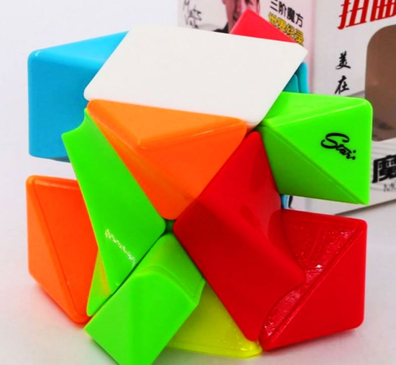 Twisty Skewb Stickerless