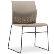 Cadeira Connect Areia com base Preta