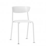 Cadeira Fixa Bit Branca
