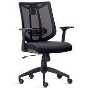 Cadeira Presidente Aika Tela Preta