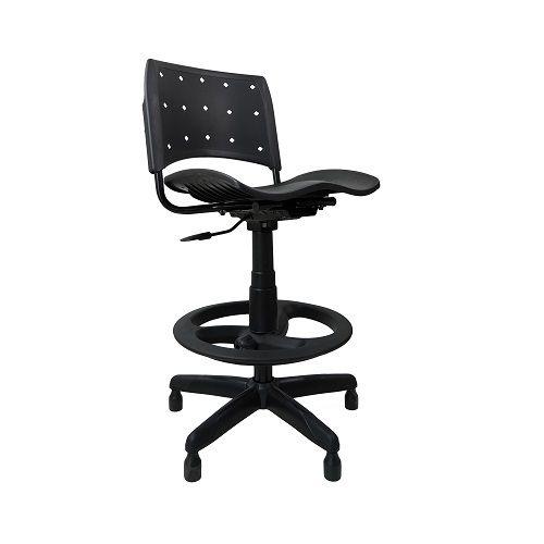 Cadeira Caixa Ergoplax+ PRETA