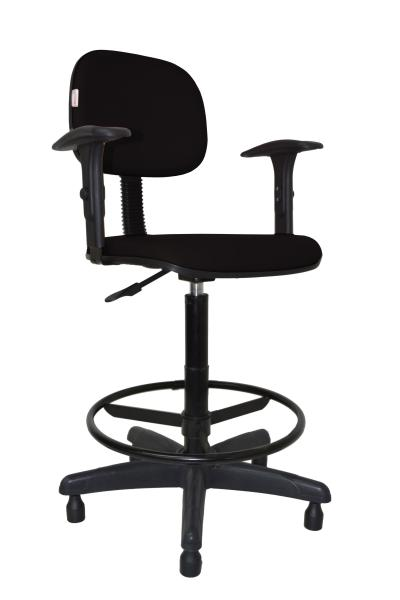 Cadeira Caixa Secretaria Bolt com Braço