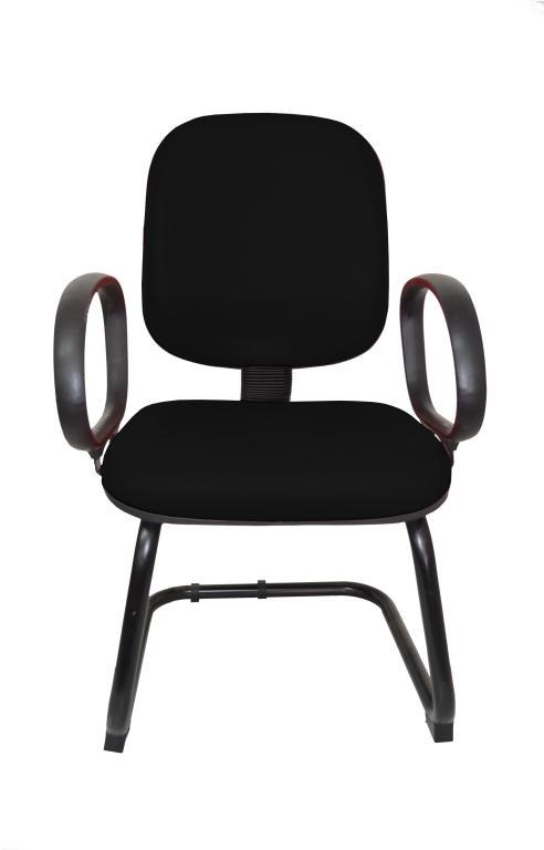 Cadeira Fixa Diretor Fire Base S com Braço