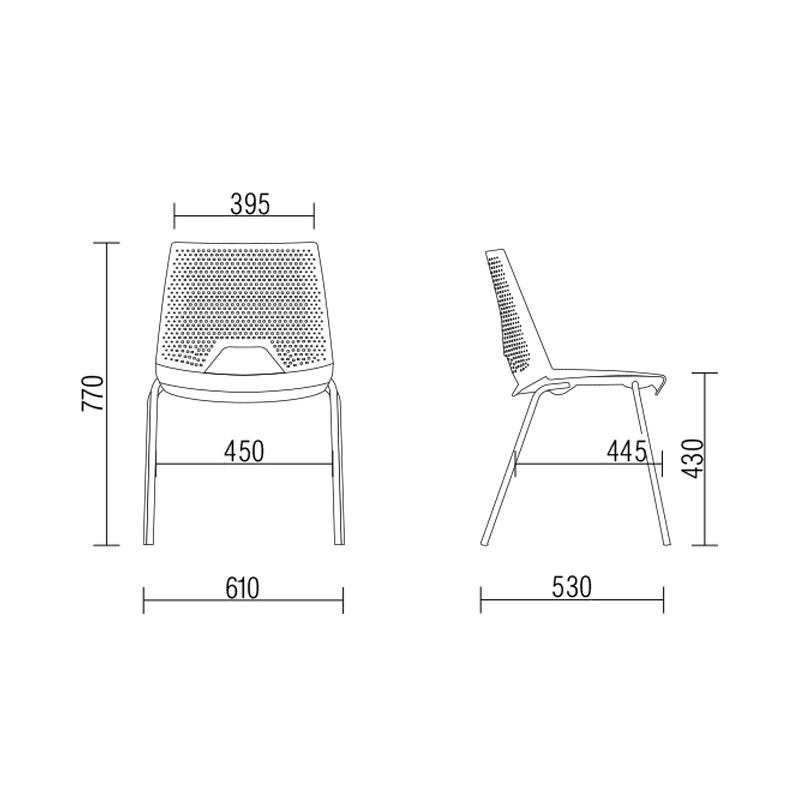 Cadeira Fixa Strike Areia