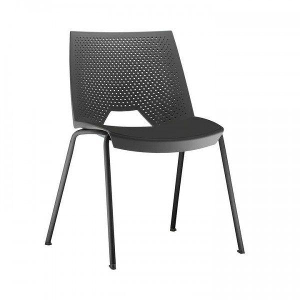 Cadeira Fixa Strike Preta