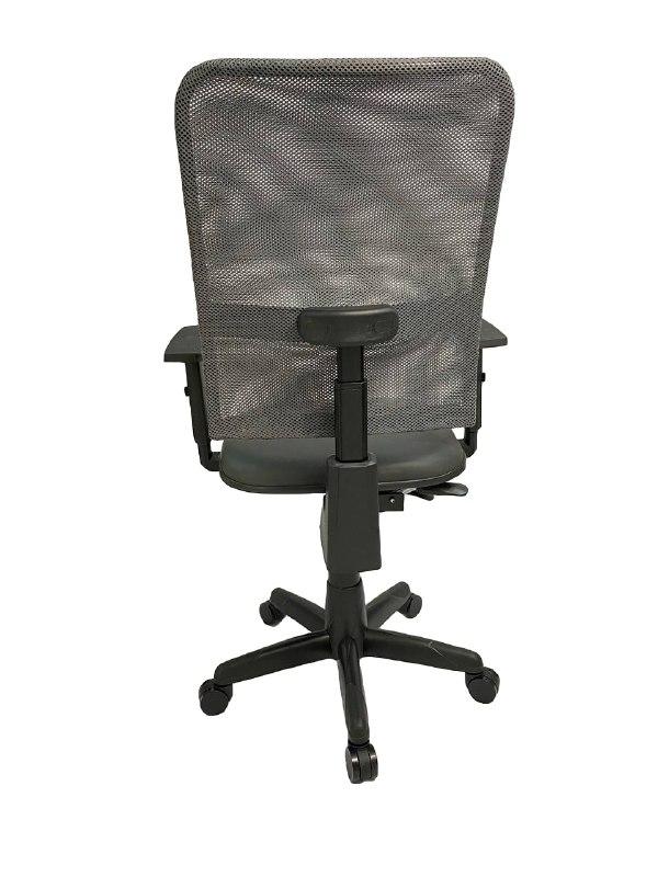 Cadeira Gerente Jupter Tela Back System com Braço Regulável Cinza