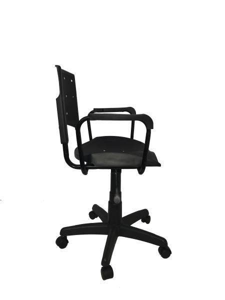 Cadeira Giratoria Ergoplax Secretaria com Braco