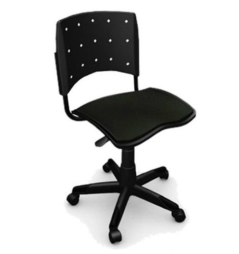 Cadeira Giratoria Ergoplax Secretaria Estofada