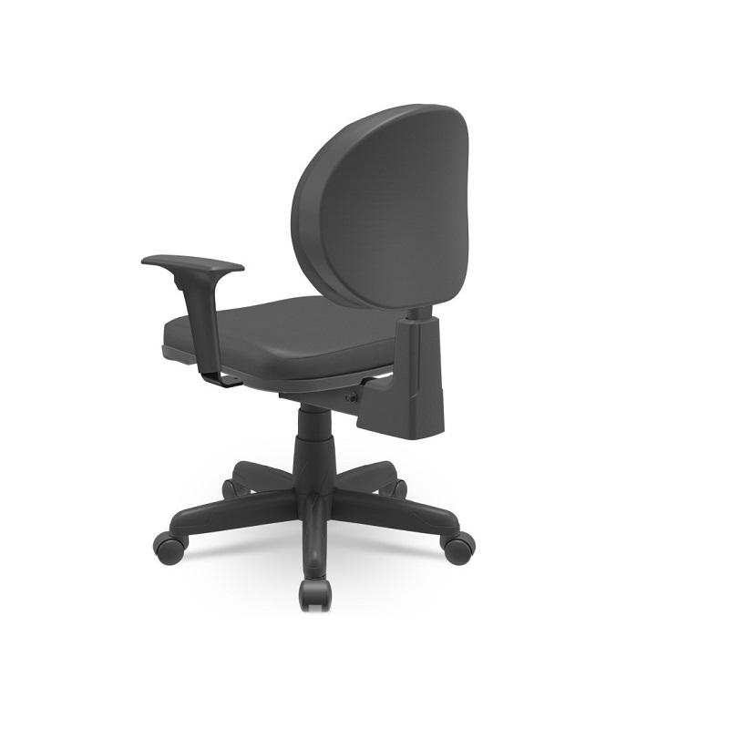 Cadeira Giratoria Executiva Operativa Plus Back System com Braço CE Preto