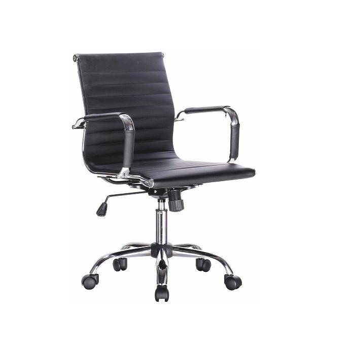 Cadeira Giratória Presidente Esteirinha Preta