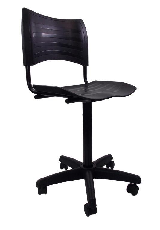 Cadeira Giratoria Turim Secretaria Pistão Fixo