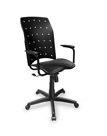 Cadeira Presidente Ergoplax Giratoria
