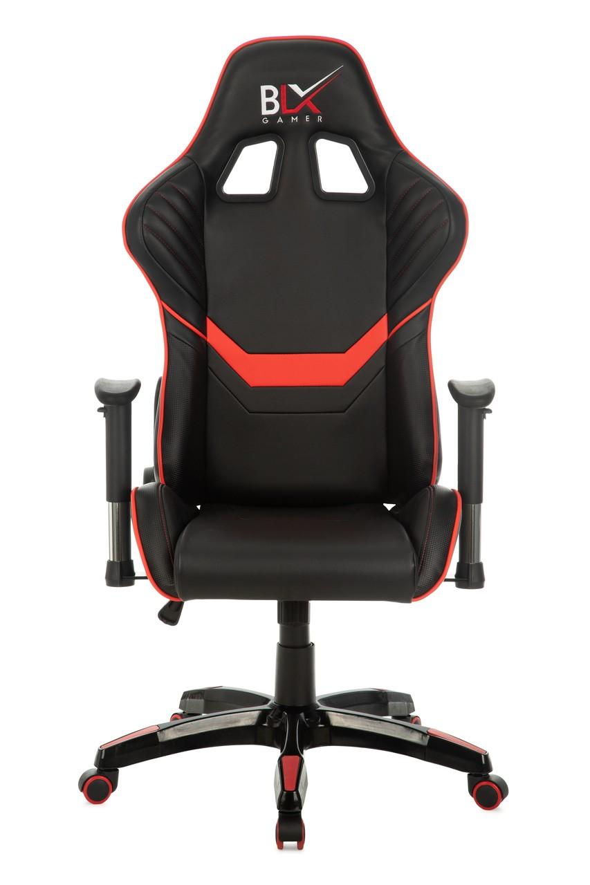 Cadeira Presidente Giratória Gamer Vermelho/Preto
