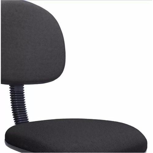 Cadeira Secretaria Giratoria Bolt Tecido Preto