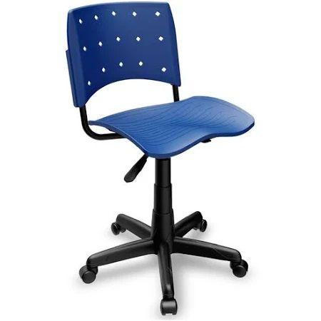 Cadeira Secretária Giratória Ergoplax+ Azul