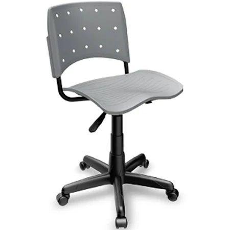 Cadeira Secretária Giratória Ergoplax+ Cinza