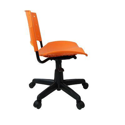 Cadeira Secretária Giratória Ergoplax+ Laranja