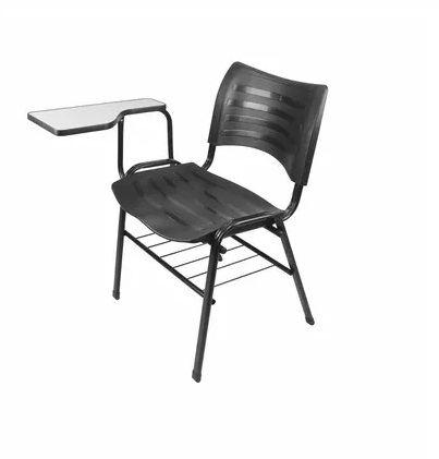 Cadeira Universitaria Turim Com Porta Livros