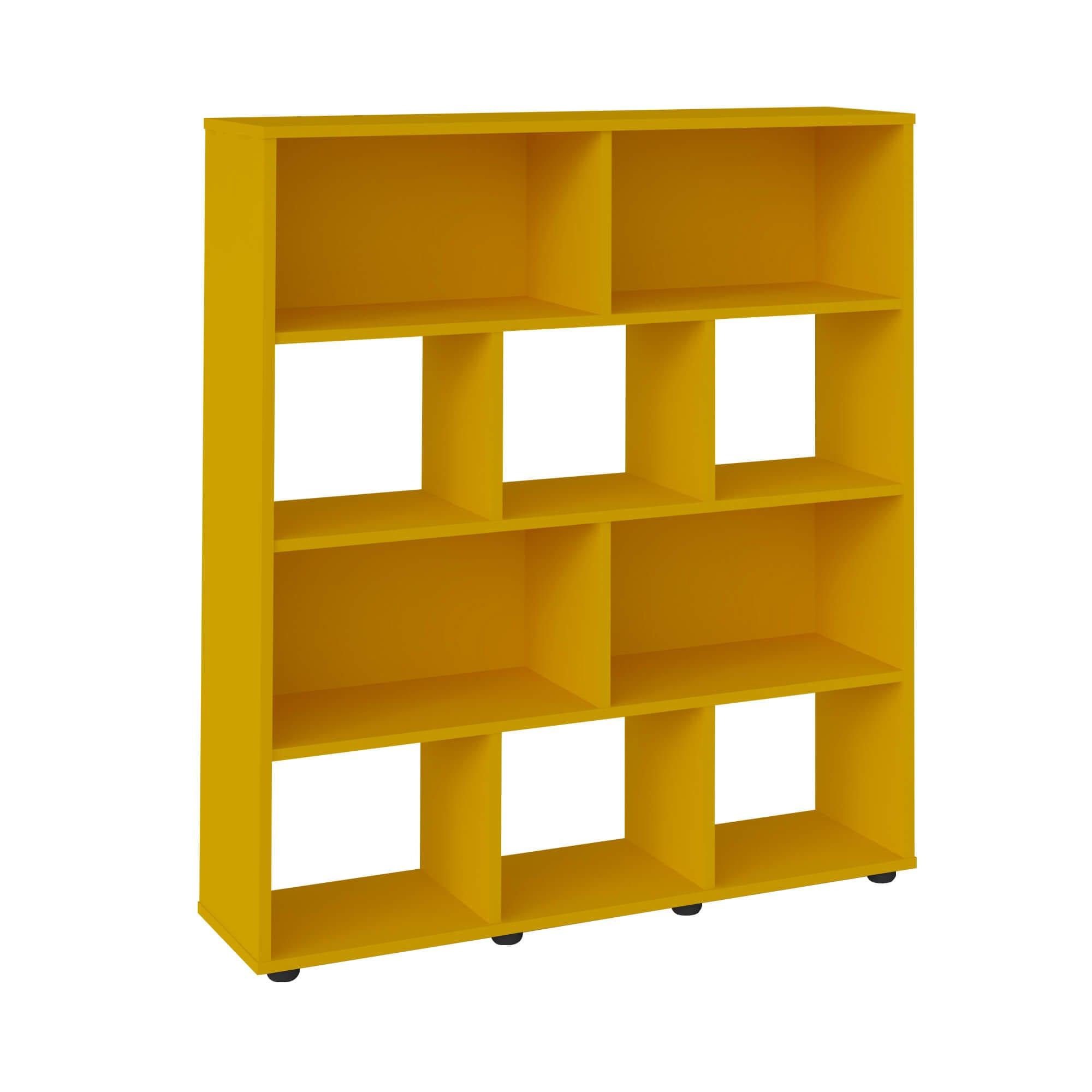 Estante Book Amarelo