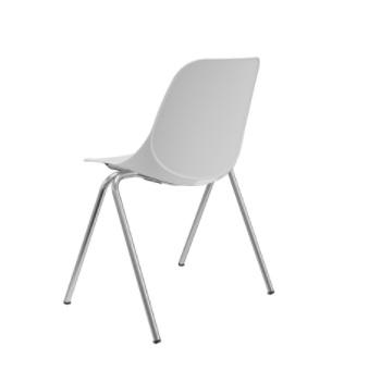 Kit 4 Cadeira Fixa Quick Branco