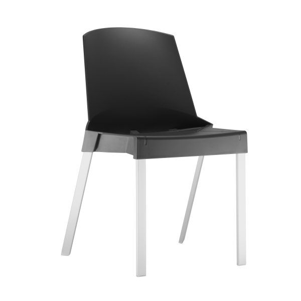 Kit 4 Cadeiras Shine Preta