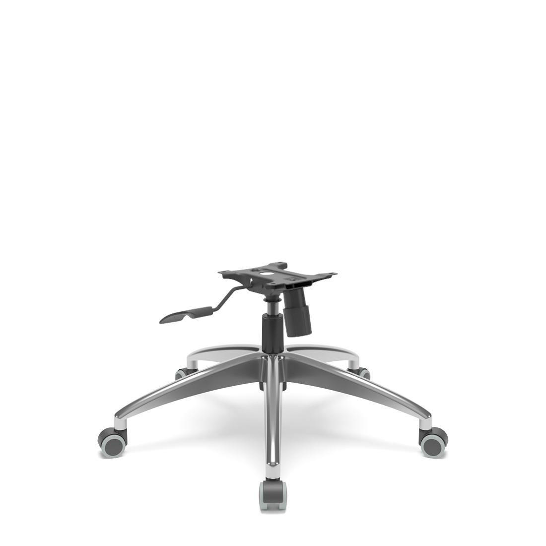 Kit Base para Cadeira Diretor/Presidente Relax Reclinável em Alumínio