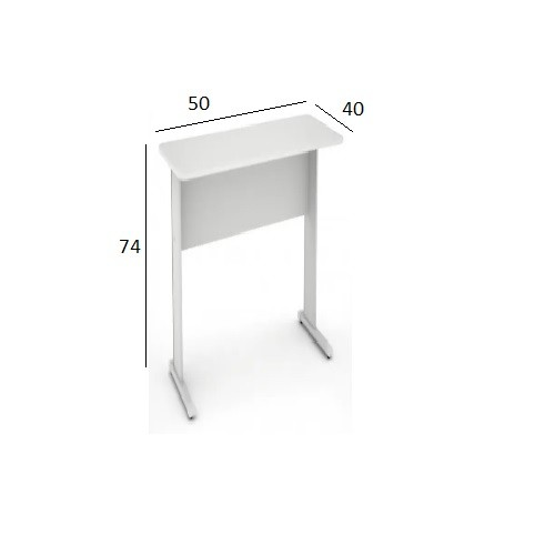 Mesa de Impressora Slim 0,50 x 0,40 Branco
