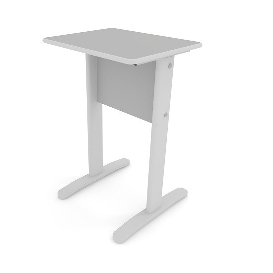 Mesa de Impressora Slim 0,50 x 0,40 Cinza