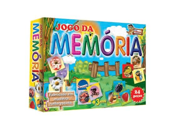 Jogo da Memória 24 Peças em Madeira - Prof. Coruja 5e76c0ed1eba1