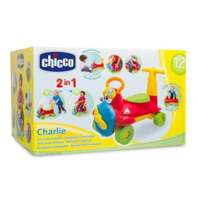 Porteur Avion Chicco Charlie