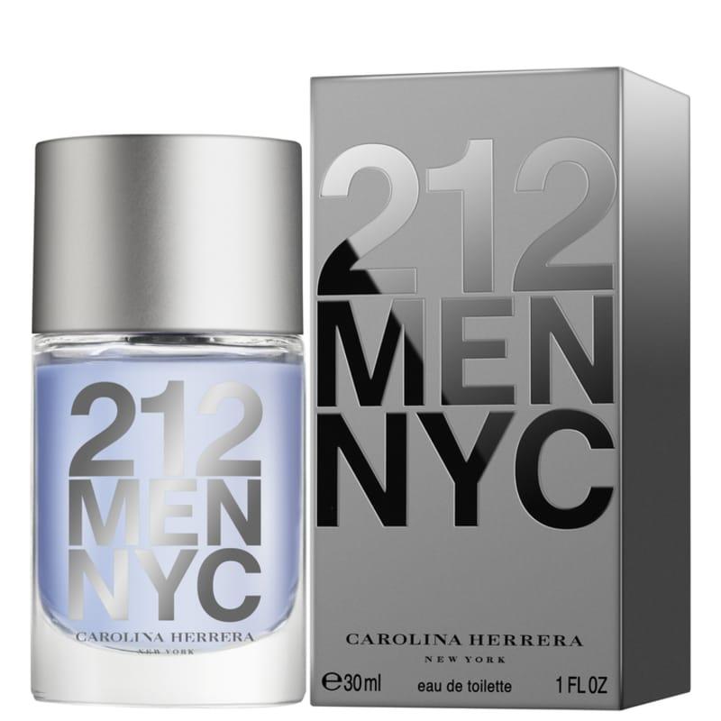 3e1a124de Perfume 212 Men Masculino Eau de Toilette 30ml - Carolina Herrera ...