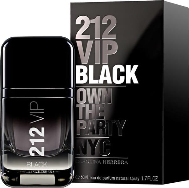 1cbbff8bb7 Perfume 212 VIP Black Masculino Eau de Parfum 50ml - Carolina ...