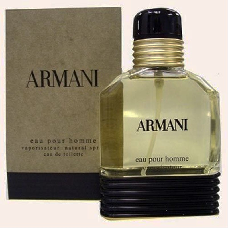 1f42a341e38d2 Perfume Armani Pour Homme Masculino Eau de Toilette 50ml - Giorgio ...