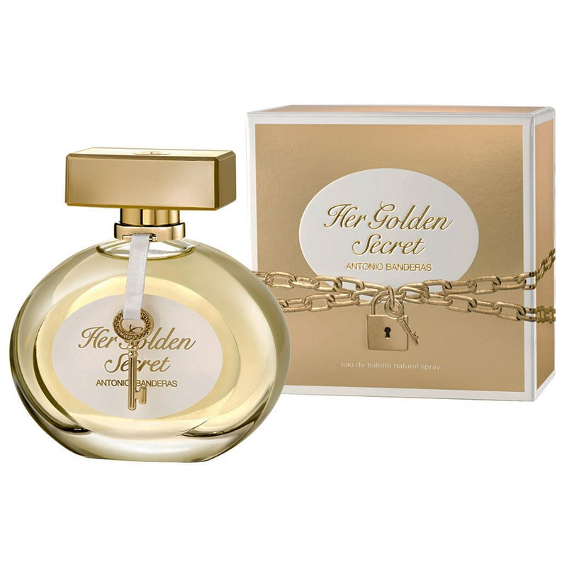 c1669f02a Perfume Her Golden Secret Feminino Eau de Toilette 80ml - Antonio ...
