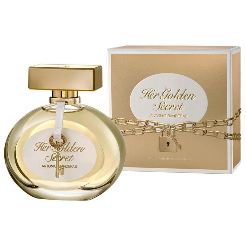 081cb38546 Perfume Her Golden Secret Feminino Eau de Toilette 80ml - Antonio ...