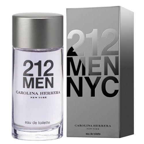 2c367211c Perfume Miniatura 212 Men Masculino Eau de Toilette 7ml - Carolina ...