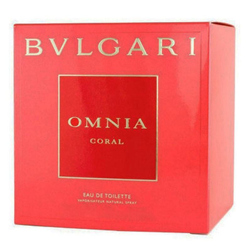 77b25f3abc8fc Perfume Omnia Coral Feminino Eau de Toilette 65ml - Bvlgari BVLGARI ...