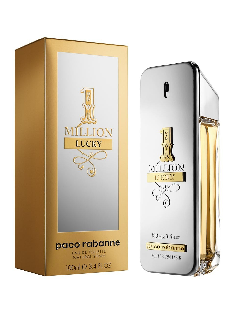 cd0e93a9b8 Perfume One Million Lucky Masculino Eau de Toilette 100ml - Paco ...