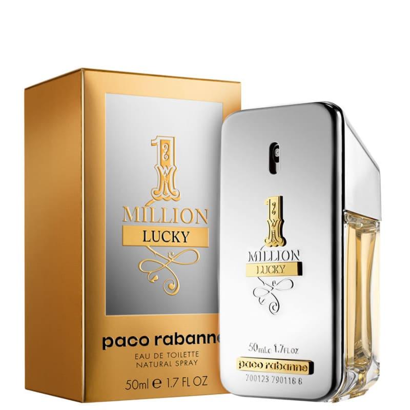 38103e662 Perfume One Million Lucky Masculino Eau de Toilette 50ml - Paco ...