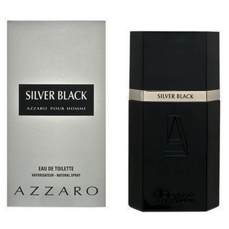 48f2f45a3 Perfume Silver Black Masculino Eau de Toilette 100ml - Azzaro AZZARO ...