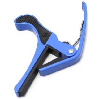 Abraçadeira Violão Dolphin 10698 P/Violão Aço/Guit.Haste Longa Azul
