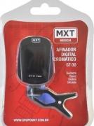 Afinador Mxt Gt30 545212 Clip Cromatico Baixo Guitarra Violão
