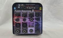 Amplificador Processador Supertech Audio Solution AS5 Bluetooth USB FM 3Canais 2Xlr C/Efeito 196WRF Propaganda