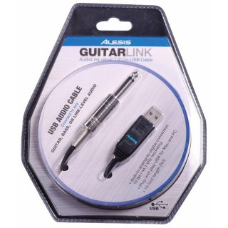 Cabo Alesis Guitarlink-A Interface Audio Usb P/Guit.