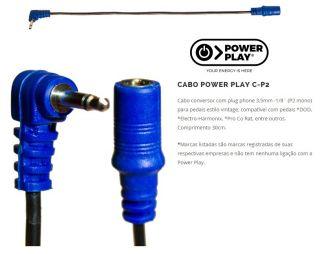 Cabo Power Play 608 Cp2 Conversor Dod,Electro Harmonix, Azul