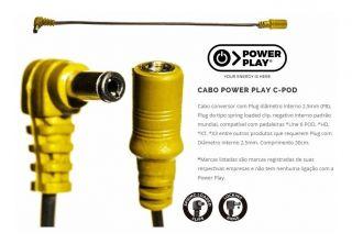 Cabo Power Play 612 Cpod Conversor Line 6 Pod,Xt,X3