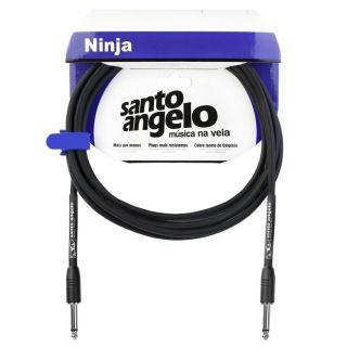 Cabo Santo Angelo 08636 Ninja 20ft 6,10m Embo.P10 P/Inst.Metal Preto