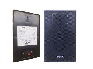 Caixa Acústica DSK1500/65 Som Ambiente 65W 8R Preta