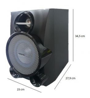Caixa Acústica Philips 1fal.6