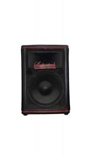 Caixa Acústica Supertech Hibrida Falante 10.5 187wref.